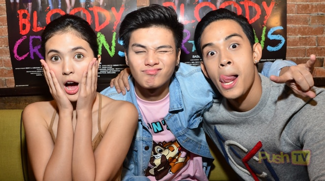 Diego Loyzaga says barkadas will be able to relate to 'Bloody Crayons'