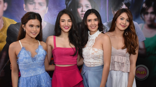 "Celebrity Poll: Girl cast of ""Bloody Crayons"" share what their favorite colors are"