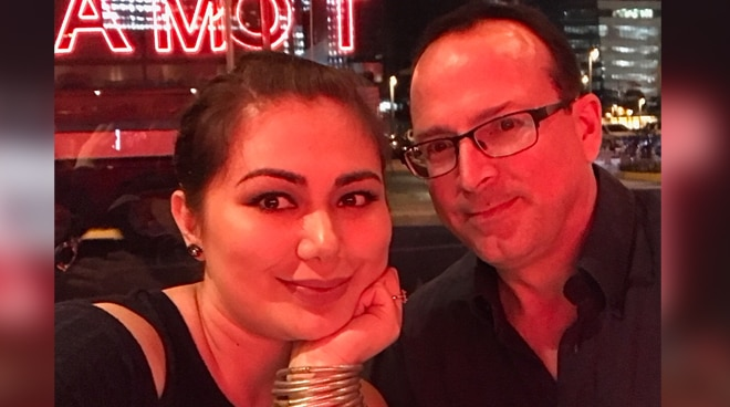 Francine Prieto's deported husband finally returns to the Philippines