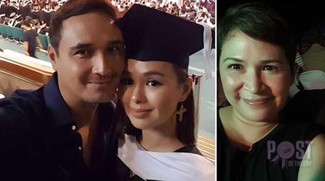 LOOK: John Estrada and Janice de Belen are proud of their newly-graduated daughter Kaila