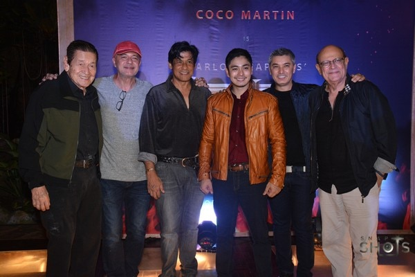 The cast of Ang Panday
