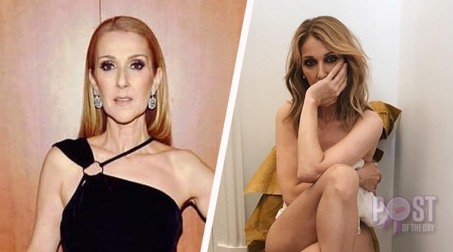 LOOK: Celine Dion goes nude for Vogue Magazine