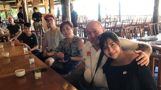 EXCLUSIVE: Julia Montes spends time with father and his family in El Nido, Palawan