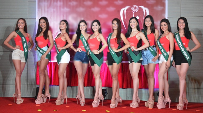 Miss Earth Philippines contestants reveal their celebrity crushes