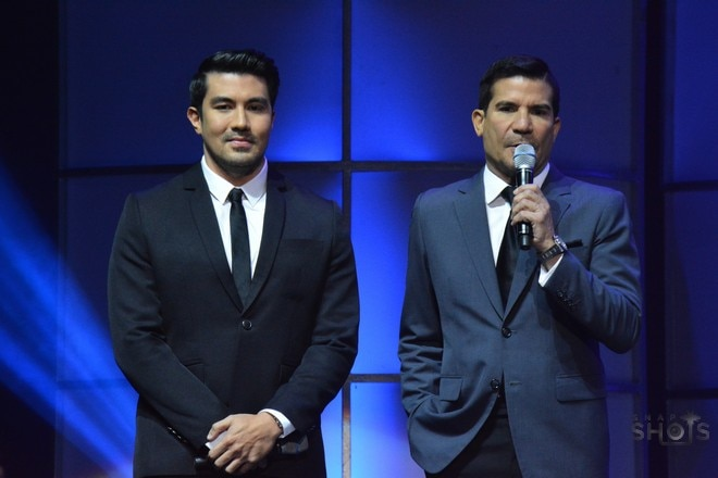 Luis Manzano and Edu Manzano