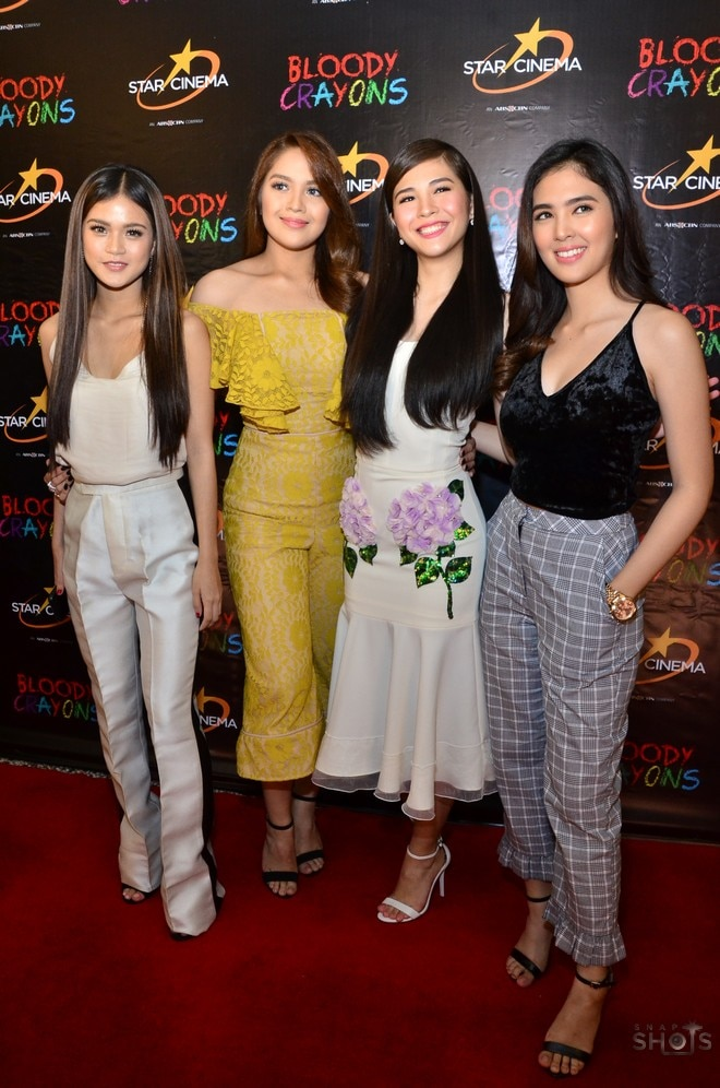 The girls of Bloody Crayons