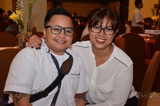 NYCP Chairperson Aiza Seguerra and FDCP Chairperson Liza Dino