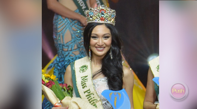 Manila's Karen Ibasco wins 2017 Miss Philippines Earth crown