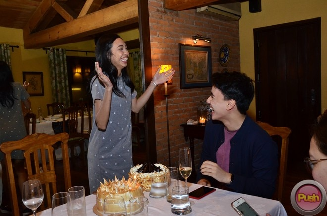 MayWard having a good time