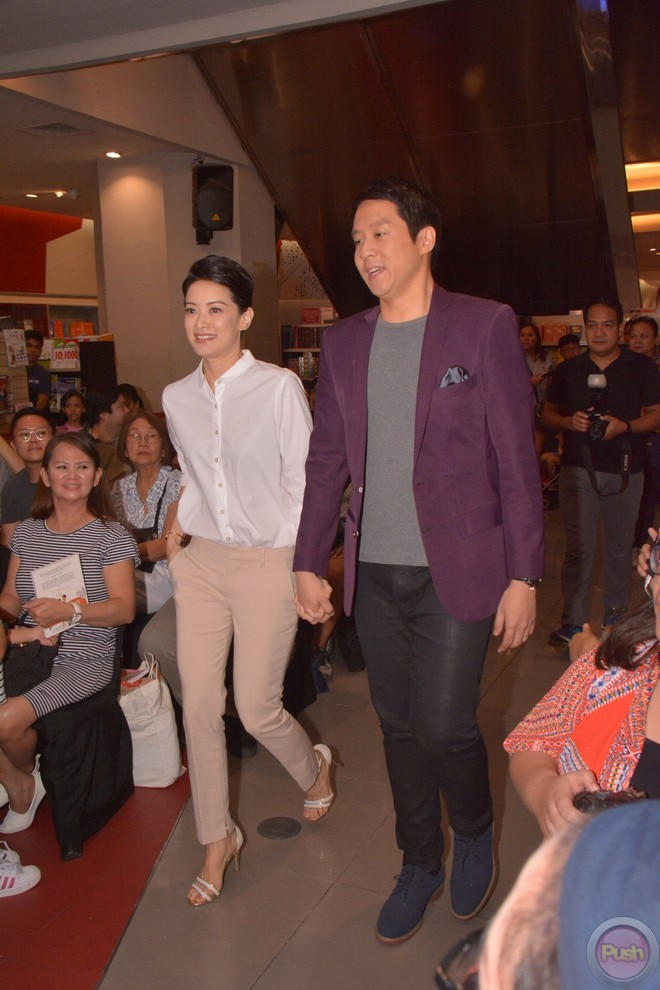 Married couple Maricar and Richard launched their new book