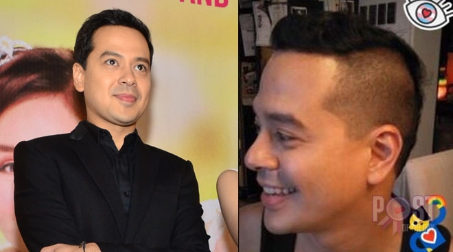 Look John Lloyd Cruz Sports A New Hairdo Push Com Ph