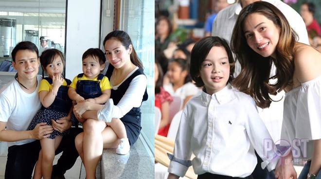 LOOK: This photo of Patrick Garcia's family with Jennylyn Mercado's family is #ModernFamGoals