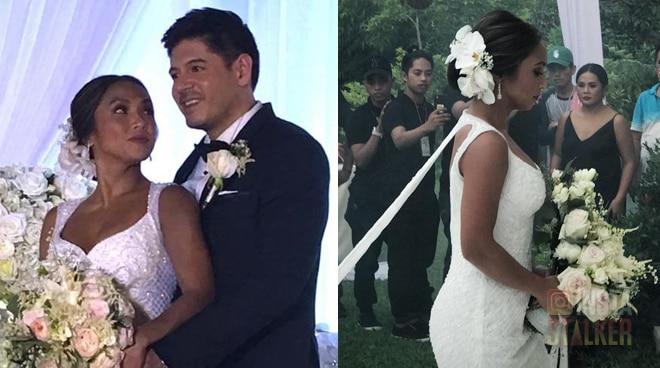 Instastalker: Rochelle Pangilinan's romantic wedding with Arthur Solinap