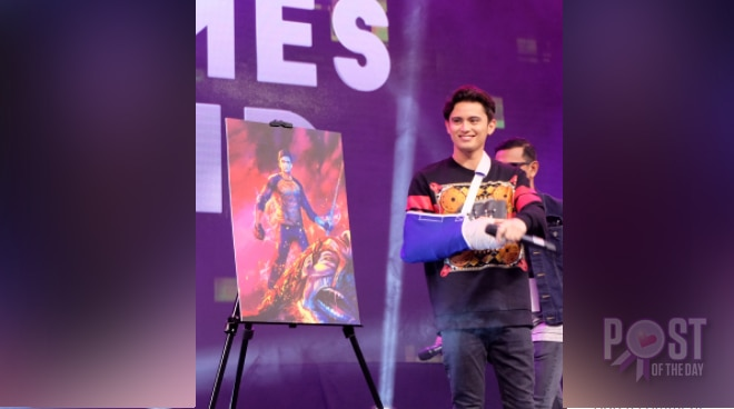 LOOK: James Reid is the new Pedro Penduko