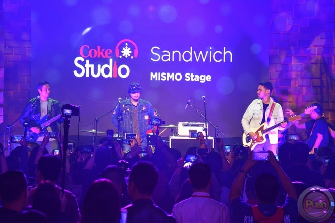 Pinoy bands went to Coca-Cola's music event