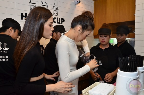 The Gonzaga sisters launched Happy Cup's pop-up store in Quezon City