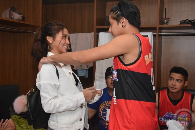 KathNiel's sweet moments at the Star Magic all-star game 2017 (9)