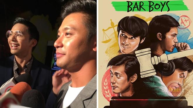 Enzo Pineda and Rocco Nacino want to bring back feel good barkada films in 'Bar Boys'