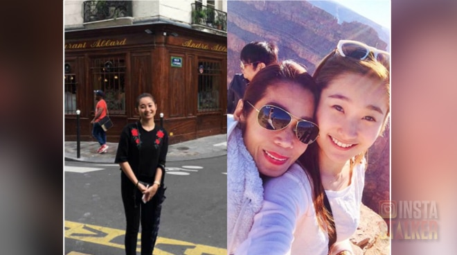 Pokwang shares daughter's experience with her first week in Paris