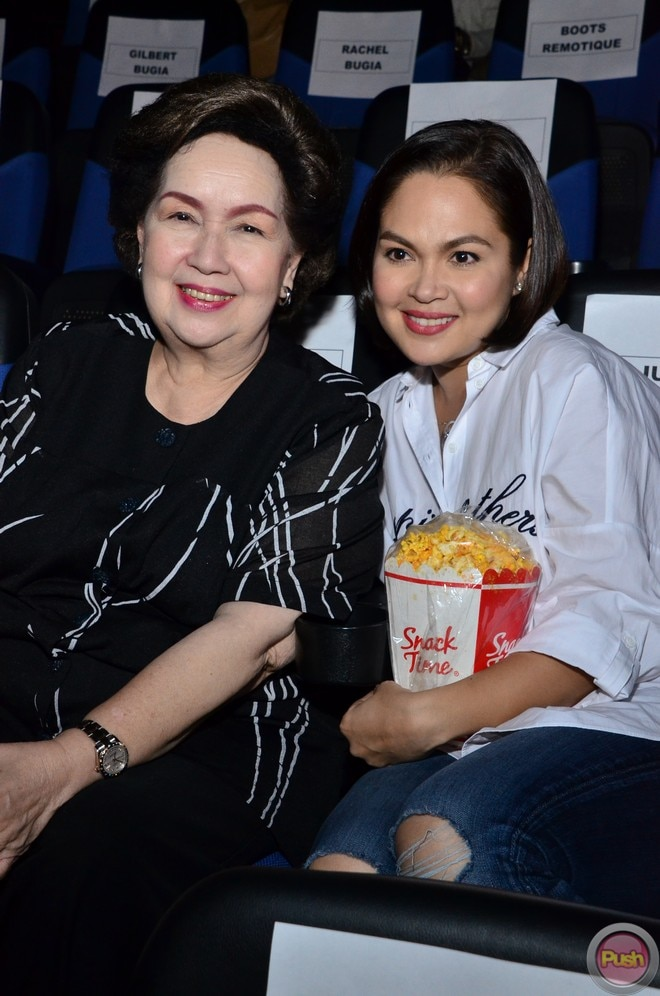 'Isusumbong Kita sa Tatay Ko,' starring Judy Ann and the late FPJ, was first shown in cinemas in 19