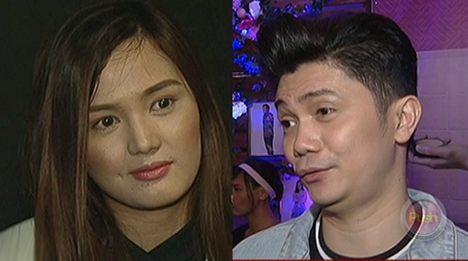 Vhong Navarro and Deniece Cornejo almost cross paths at movie premiere