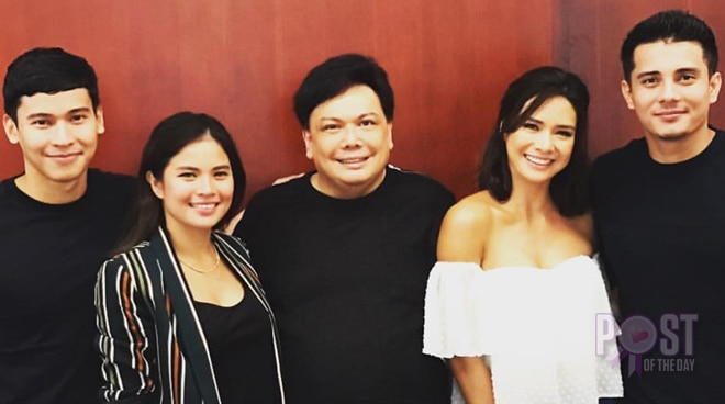 LOOK: Erich Gonzales, Ejay Falcon and other stars to work on a teleserye together
