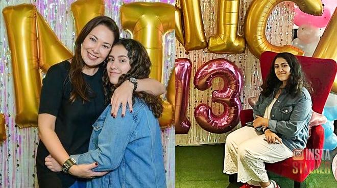 InstaStalker: Ruffa Gutierrez's youngest daughter Venice gets her 13th birthday bash