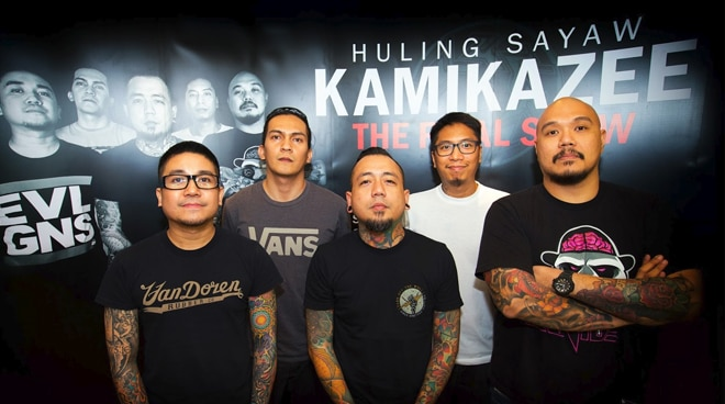 Rock group Kamikazee to end hiatus with a new song
