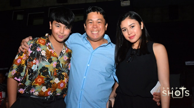 Dennis Padilla reunites with kids at 'Love You To The Stars and Back' premiere