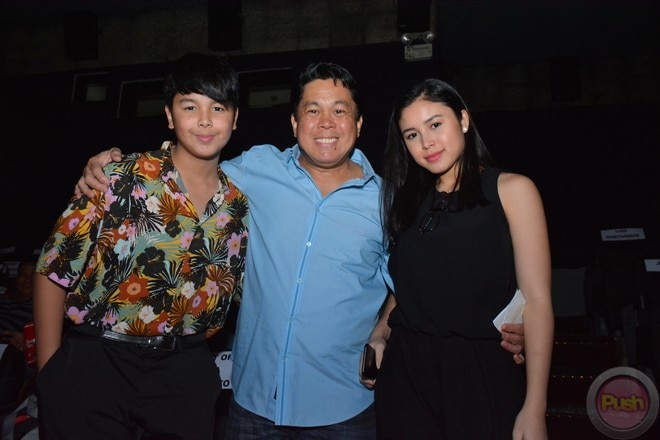 Julia Barretto's parents & siblings showed support for her new movie Love You To The Moon and Back