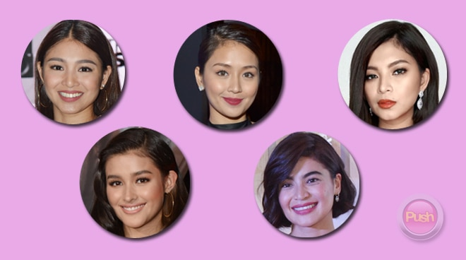 PUSH FEMALE CELEBRITY: Who will be your choice this 2017?