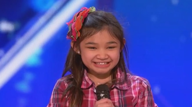 WATCH: 10-year old Fil-Am Angelica Hale receives a standing ovation for her performance in America's Got Talent