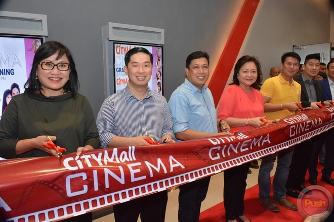 Star Cinema and JoshLia graced Citymall-Anabu's cinema opening