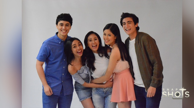 Fun moments from MayWard & KissMarc's pictorial for 'Loving in Tandem'