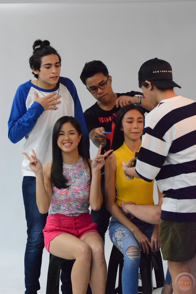 Maymay Entrata, Edward Barber, Kisses Delavin & Marco Gallo's first movie 'Loving in Tandem'