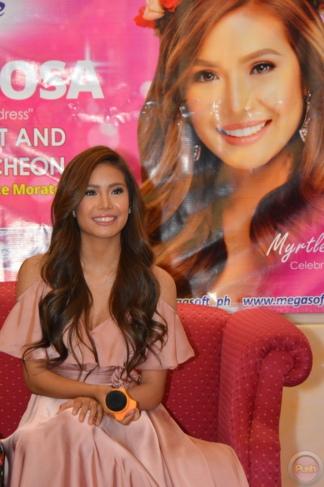Myrtle Sarrosa renews her contract with 'Sisters' brand.