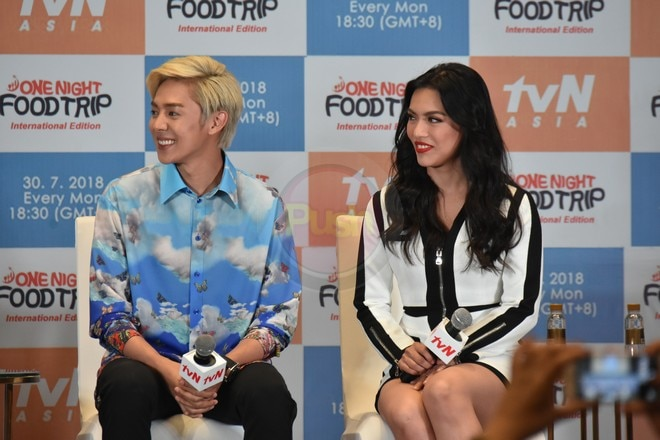 Danica & Ciara Sotto join the Korean stars in One Night Food Trip – International Edition's presscon