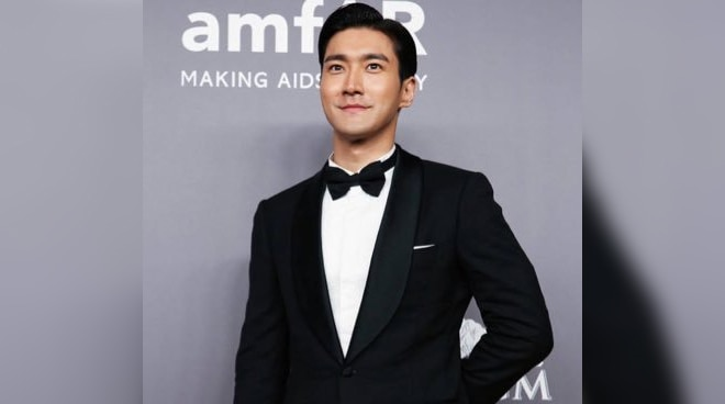 Super Junior member Siwon thanks Filipino fans for patiently waiting for them