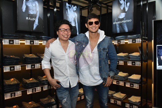In collaboration with Avel Bacudio, Matteo Guidicelli launches limited edition jeans line.