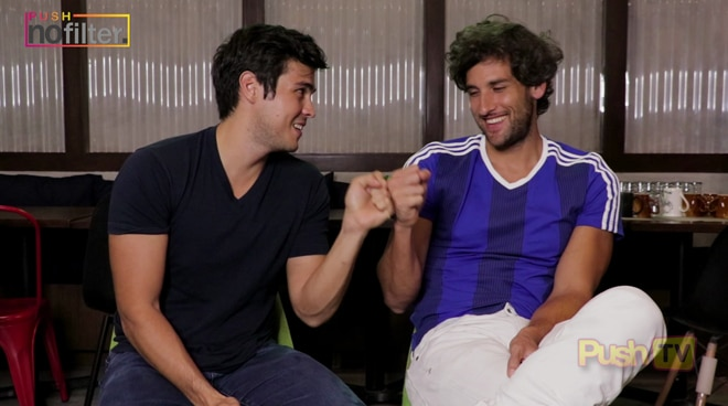 Erwan and Nico: Joys of Brotherhood