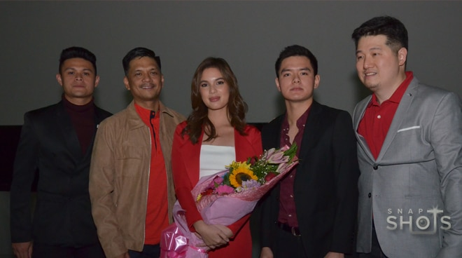 Young celebs attend Dito Lang Ako premiere