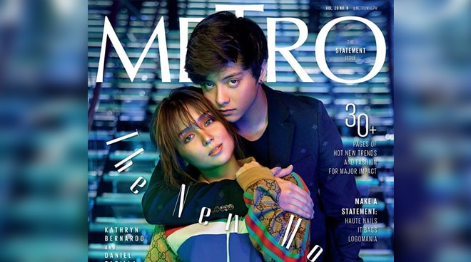 LOOK: KathNiel poses for Metro magazine's August issue