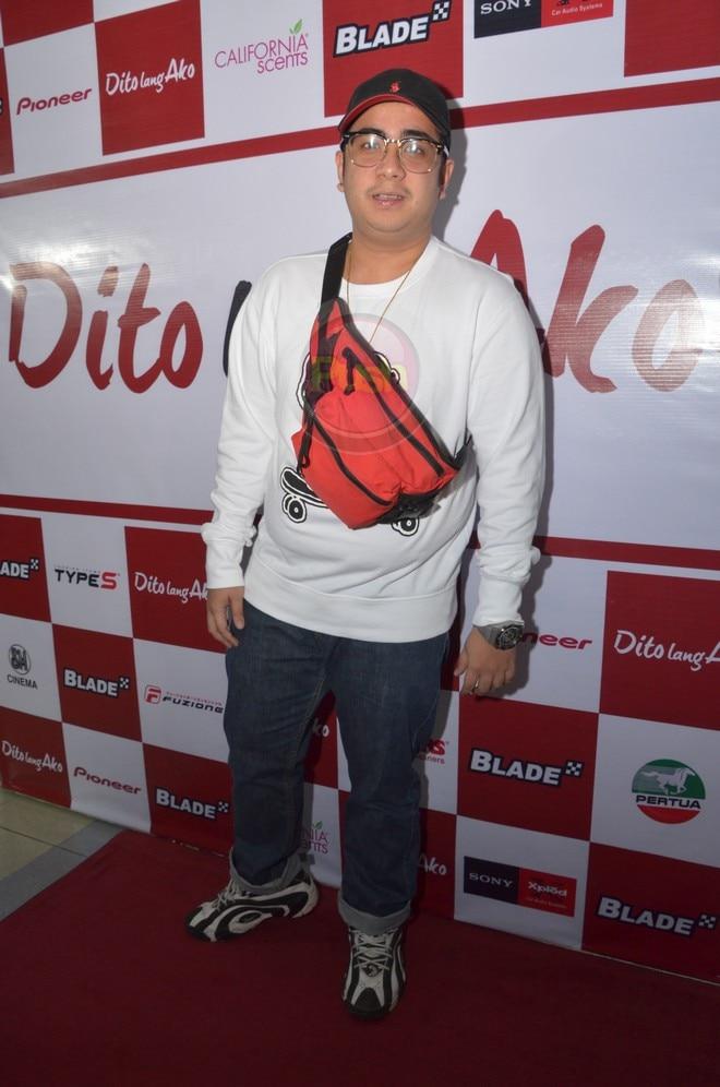 Dito Lang Ako stars Jon Lucas, Michelle Vito and Akihiro Blanco.