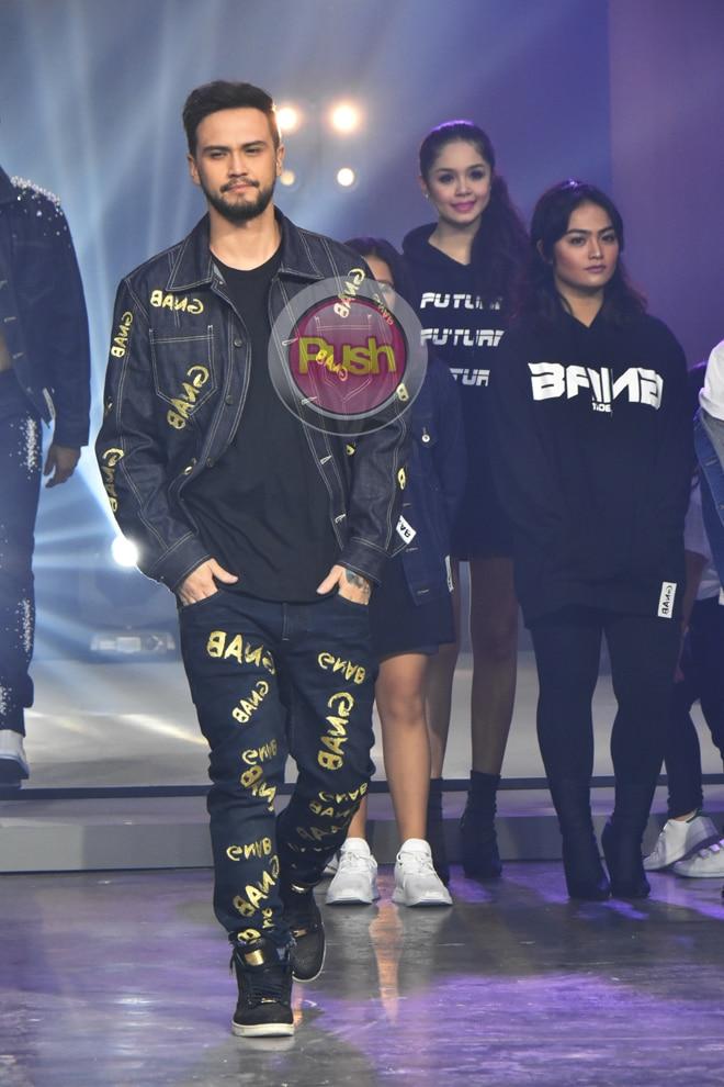 Vice Ganda, Jake Cuenca, BiCol and more celebrities starred at designer Bang Pineda's fashion show.
