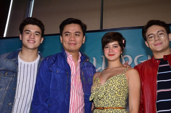 The Jun Lana movie stars Sue Ramirez, Jameson Blake and Markus Paterson.