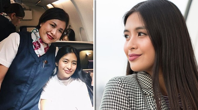 Gabbi Garcia gives tribute to flight attendant mom