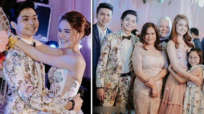 What did Ryle Santiago and his family wish for Kira Balinger at her debut?