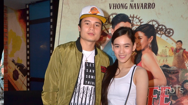 SPOTTED: 'Ate Girl' Jackque Gonzaga and Tom Doromal attend Unli Life movie premiere