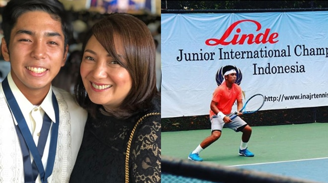 Wow! Cherry Pie's son now part of the International Tennis Federation Juniors ranking