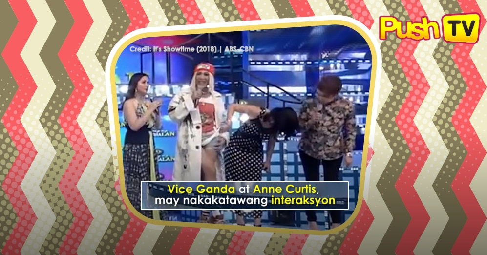 Push TV: Vice Ganda at Anne Curtis, may nakakatawang interaksyon sa It's Showtime